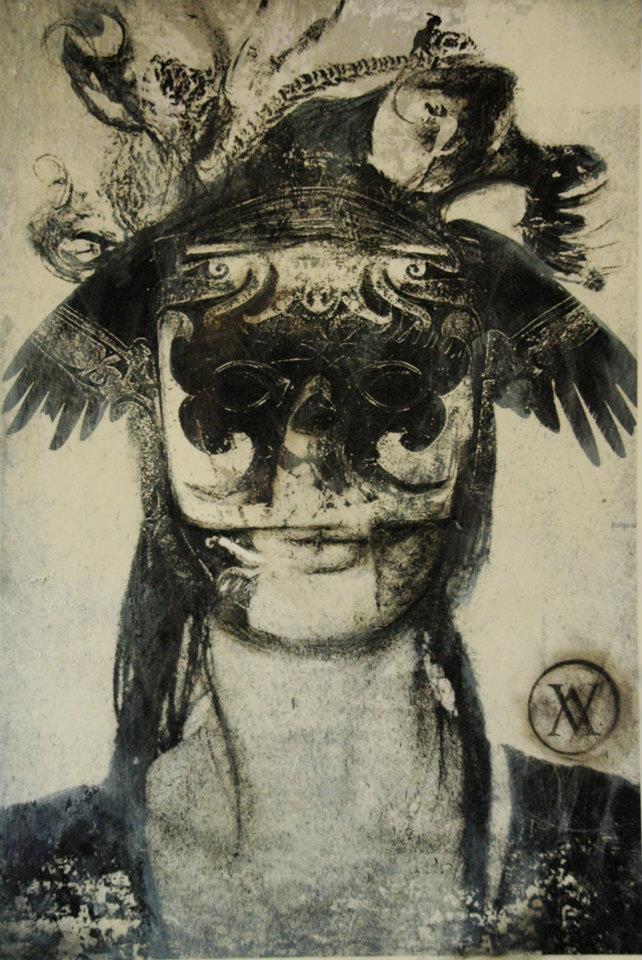 Fernanda Veron - Fragment of the archangel-St.Michael, 2011