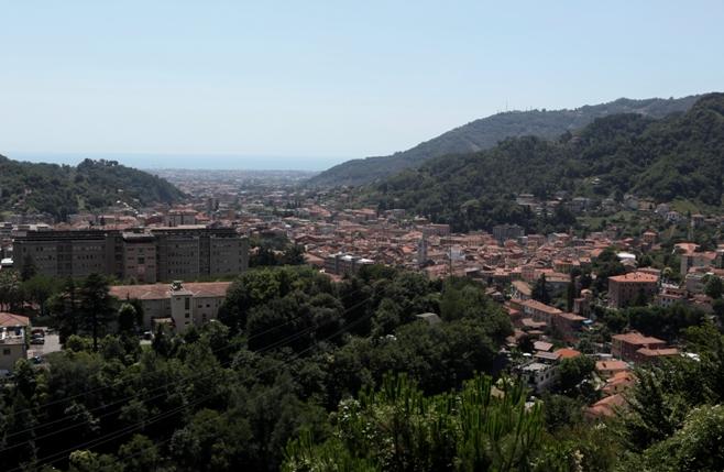 Carrara - panoramica
