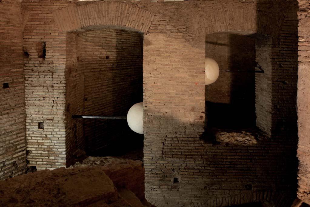Lulù Nuti, Sistema, 2015 - Case Romane del Celio - photo Stefano Esposito