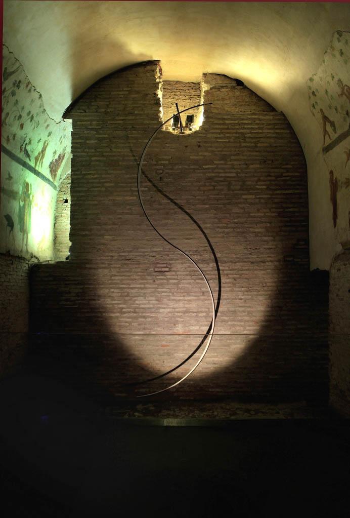 Lulù Nuti, Sistema, 2015 - s - Case Romane del Celio - photo Stefano Esposito