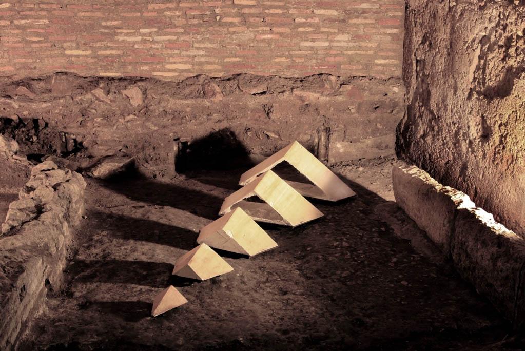 Lulù Nuti, Sistema, 2015 - vinarium - Case Romane del Celio - photo Stefano Esposito